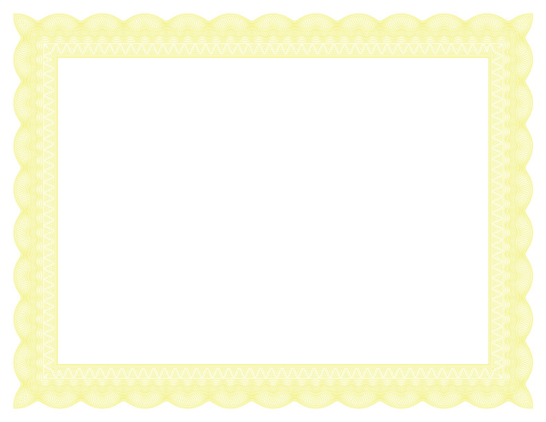 lace formal certificate borders