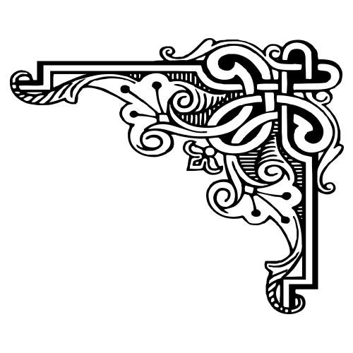 free clipart corners 2 rh templatetrove com clip art corner scrolls corner clipart
