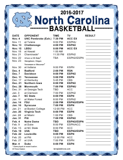 Printable 2016 2017 north carolina tar heels basketball schedule printable 2016 17 north carolina tar heels basketball schedule saigontimesfo
