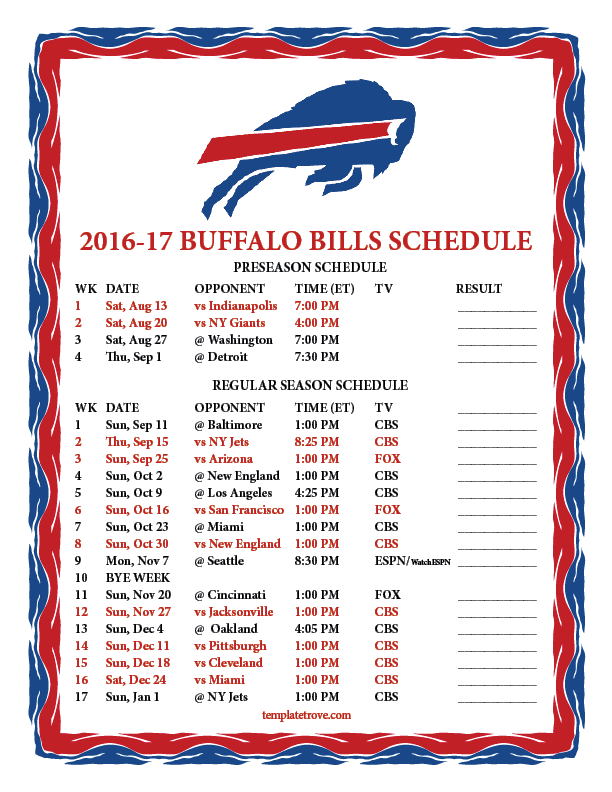 2016 2017 nfl schedules 49ers cowboys