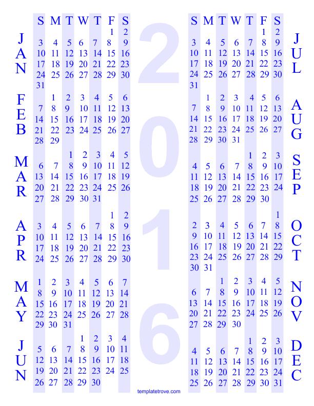 Free Calendar 4
