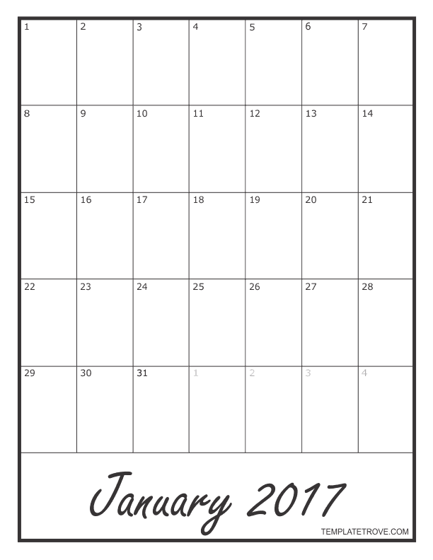 2017-Blank-Monthly-Calendar-792 October Business Newsletter Template Free on free downloadable preschool, printable downloadable,