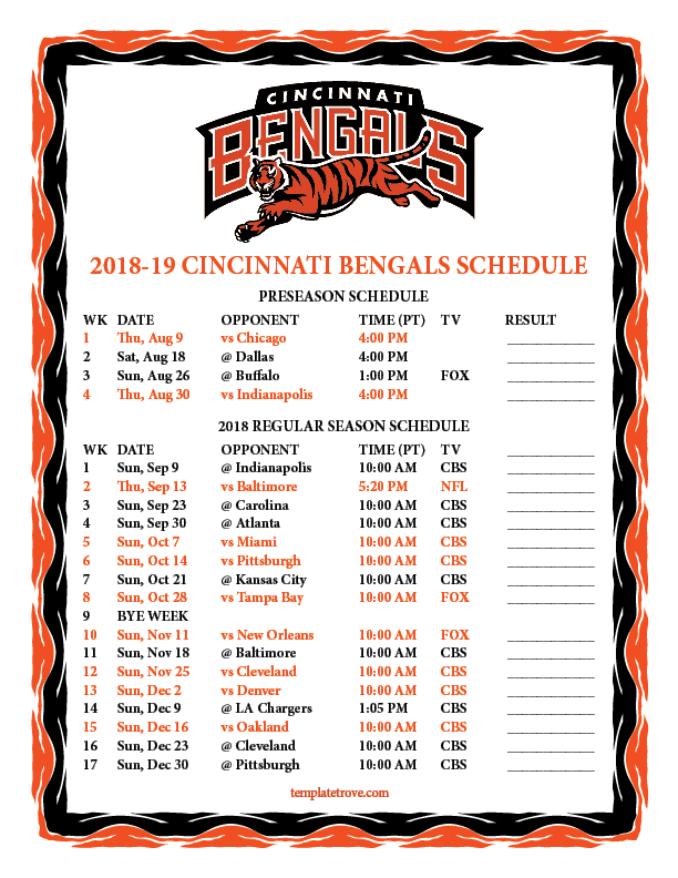 This is a picture of Crazy Printable Nfl Team Schedules