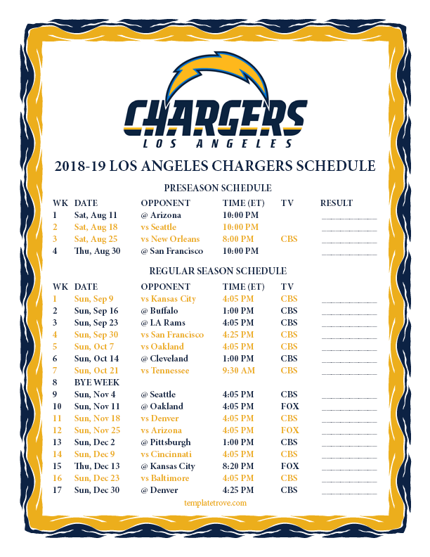 2018-2019-Printable-Los-Angeles-Chargers-Schedule-PNG Free Printable Template For Pre Newsletter on word family newsletter templates, free printable newsletter layouts, free downloadable newsletter templates, free editable newsletter templates,