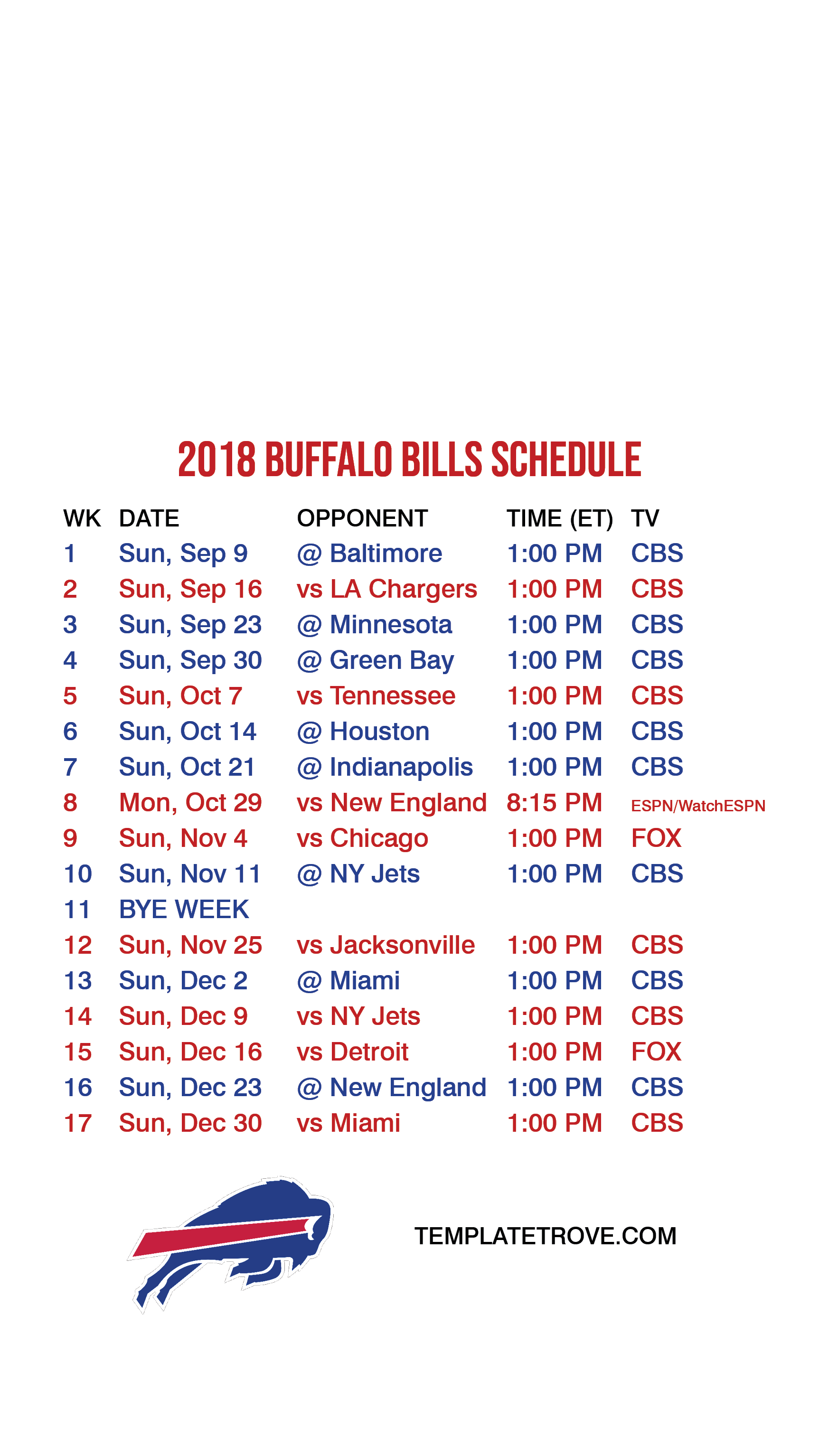 image regarding Buffalo Bills Printable Schedule named 2018-2019 Buffalo Expenses Lock Display screen Timetable for apple iphone 6-7