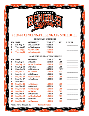 picture regarding Printable Nfl Schedules known as Schedules Printable Staff Schedules