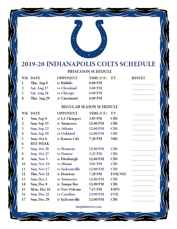 It is a photo of Breathtaking Nfl Schedules 2020 Printable
