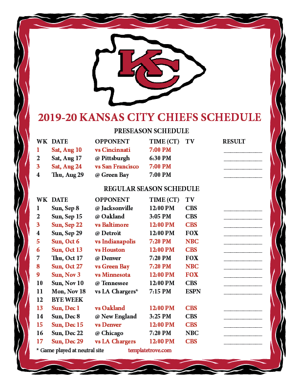 It is a graphic of Vibrant Printable Broncos Schedule 2020