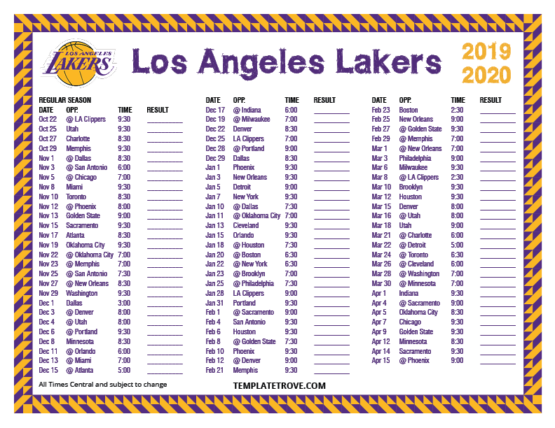 It is a graphic of Priceless Los Angeles Kings Printable Schedule