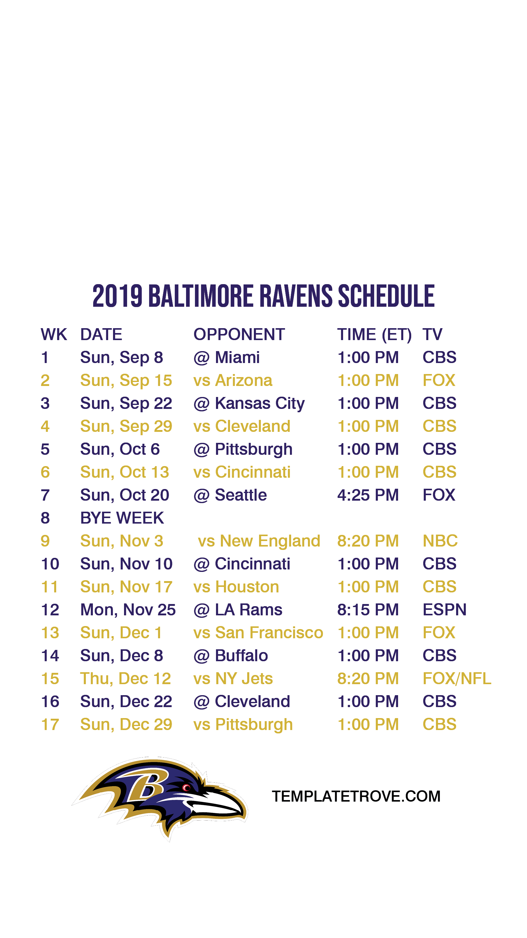 This is a photo of Old Fashioned Cleveland Browns Schedule 2020 Printable