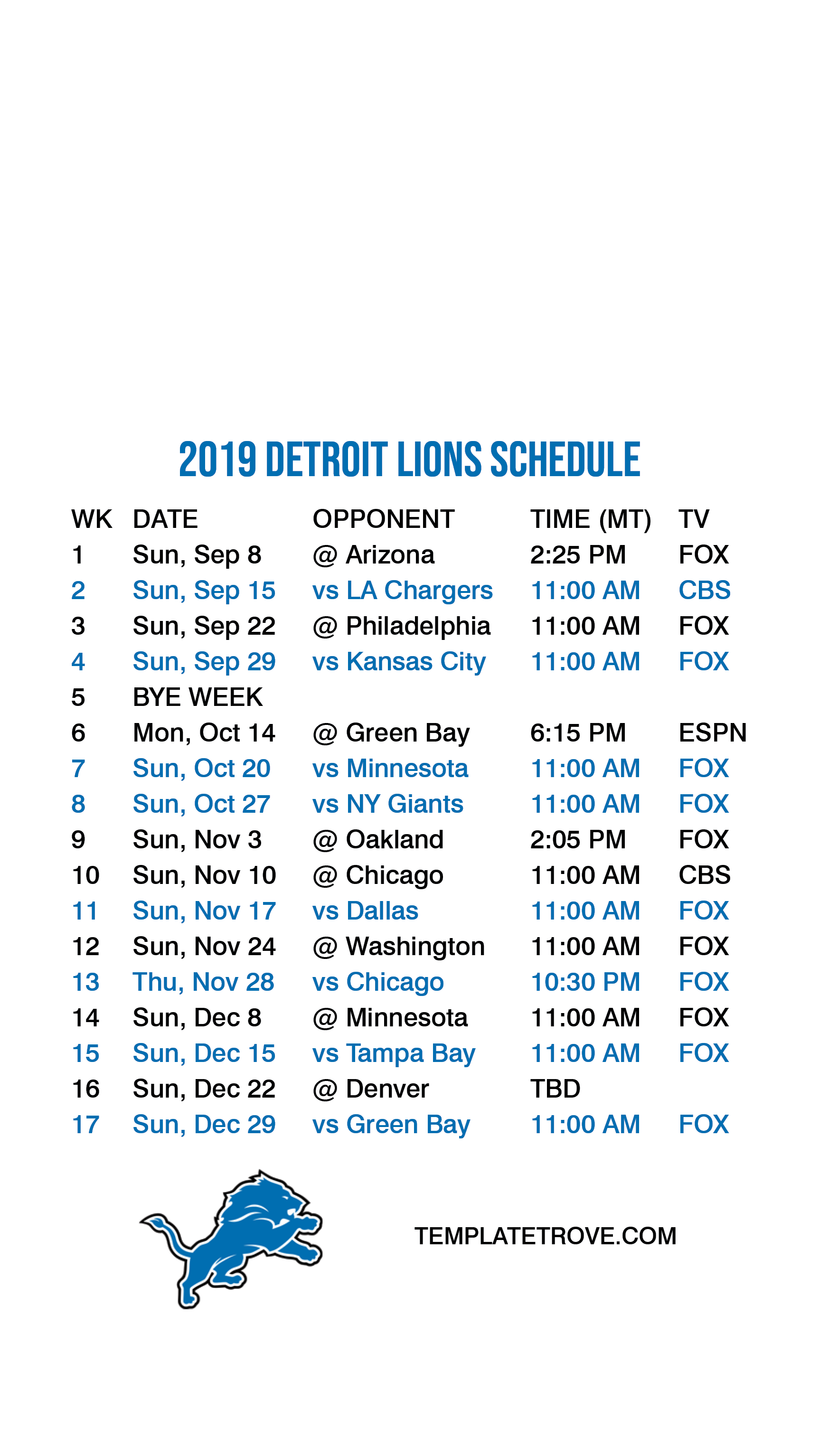 This is a photo of Challenger Green Bay Packers Schedule 2020 Printable