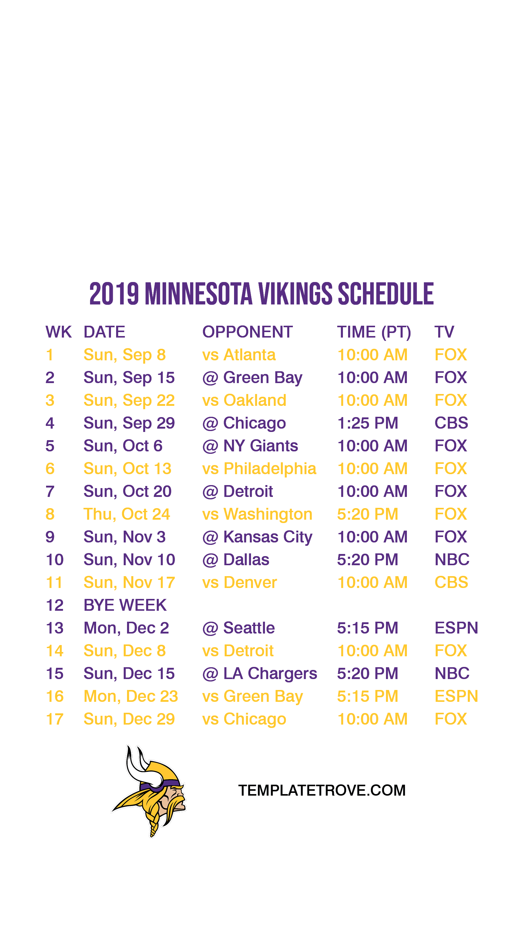 It's just a picture of Luscious Green Bay Packers Schedule 2020 Printable