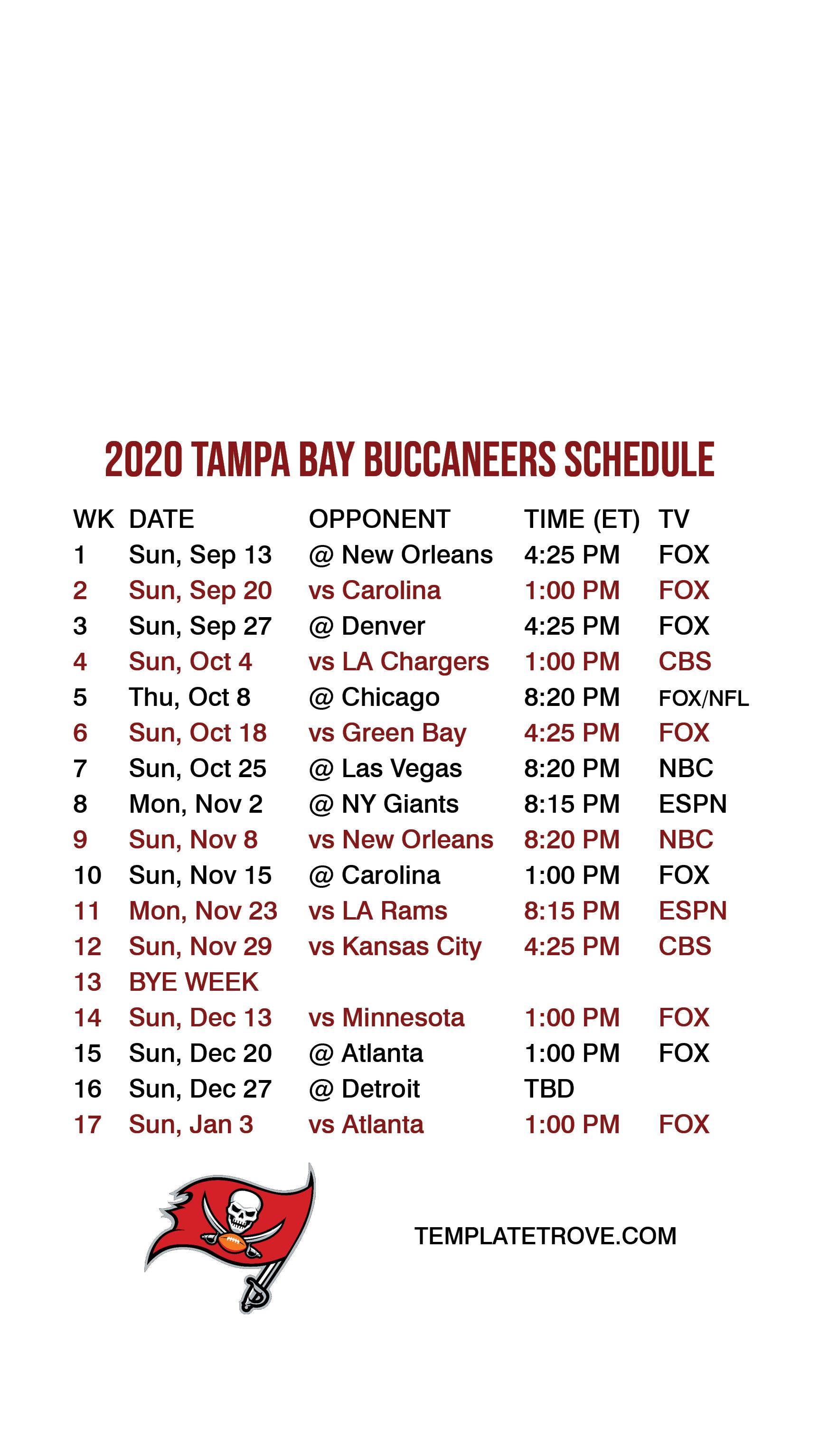 2020 2021 tampa bay buccaneers lock screen schedule for iphone 6 7 8 plus 2020 2021 tampa bay buccaneers lock