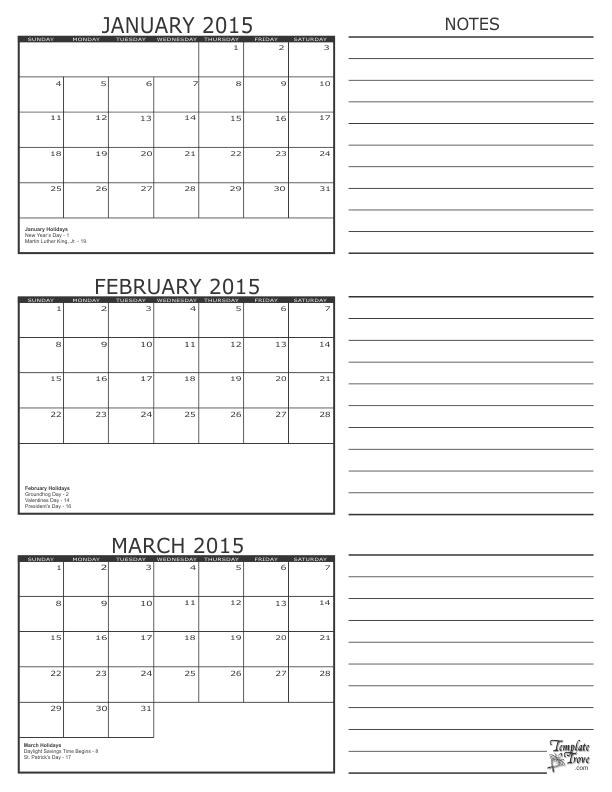 January 2015 Calendar Templates Bookhotels Tk