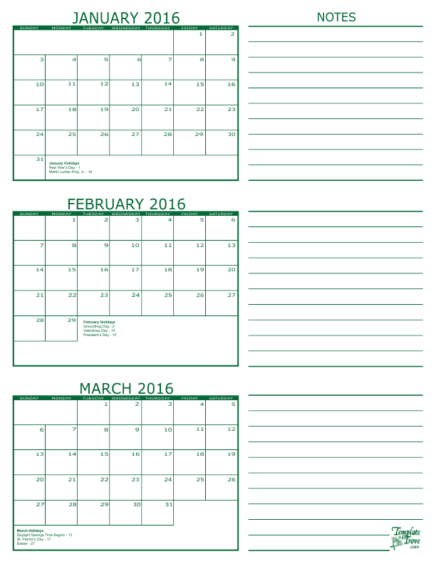 graphic relating to Printable Pdf Calendar known as No cost Calendars in direction of Print PDF Calendars