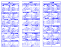 Tusd Calendar 2022 2023.2022 2023 2024 3 Year Calendar