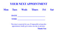 Appointment Card 4
