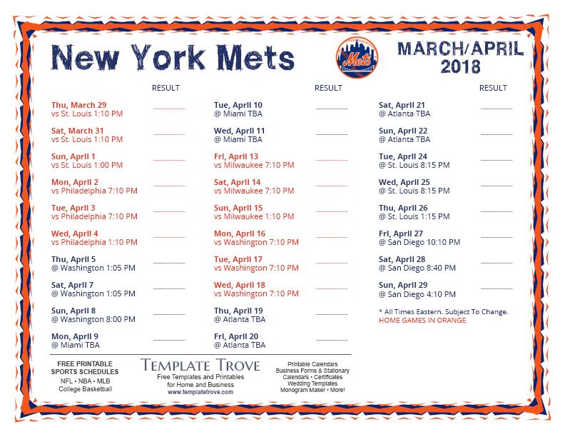 sports schedule maker free