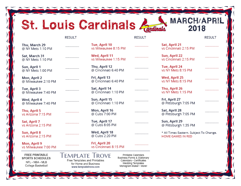 April-2018-St-Louis-Cardinals-Printable-Schedule-PNG Team Business Newsletter Template on business website headers, business themes, ecommerce templates, fitness newsletters templates, business reply mail template, business mailing lists, email marketing templates, appreciation flyer templates, business flyers,