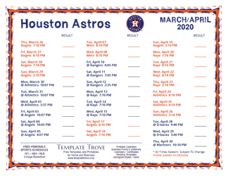 April-2020-Houston-Astros-Printable-Schedule-PNG-324 October Newsletter Template on free downloadable preschool, printable downloadable,