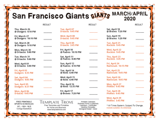 April-2020-San-Francisco-Giants-Printable-Schedule-PNG-324 October Newsletter Template on free downloadable preschool, printable downloadable,