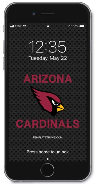 Arizona Cardinals Lock Screen 1