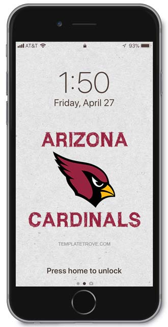Arizona Cardinals Lock Screen 3