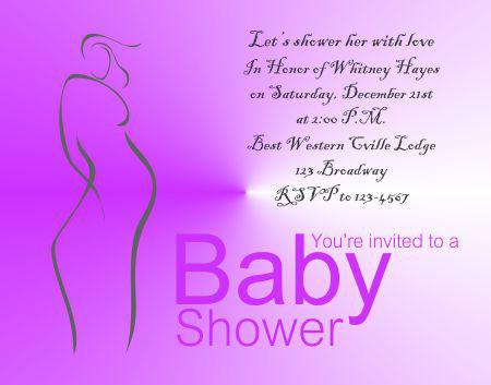 Baby Shower Invitation 2