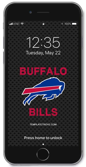 Buffalo Bills Lock Screen 1
