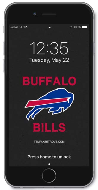 Buffalo Bills Lock Screen 2