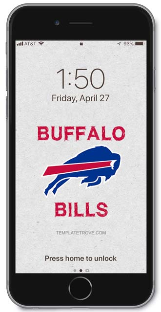 Buffalo Bills Lock Screen 3