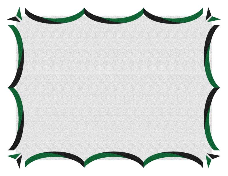 Green And Black Certificate Border 3  Certificate Border Template Free