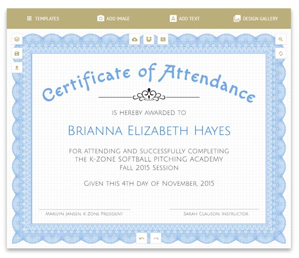 Formal Certificate Of Appreciation Templates