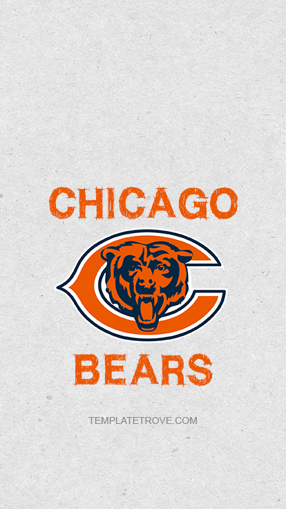 2019-2020 Chicago Bears Lock Screen