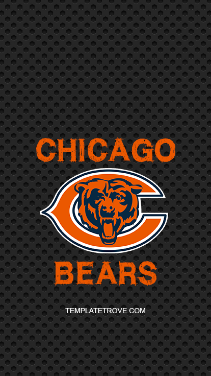 2018-2019 Chicago Bears Lock Screen