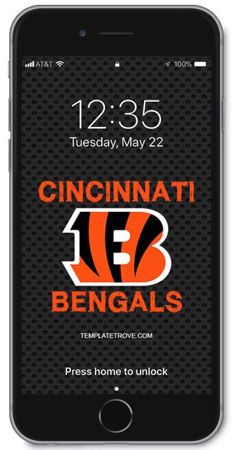 Cincinnati Bengals Lock Screen 1