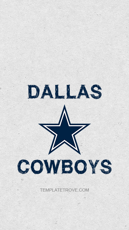 Dallas-Cowboys-Logo-Lock-Screen-iPhone-6-7-8-Plus-3 Team Newsletter Template on classroom weekly, one page, free printable monthly, microsoft publisher, christmas family,