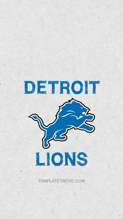 2018 2019 Detroit Lions Lock Screen Schedule For Iphone 6 7 8 Plus