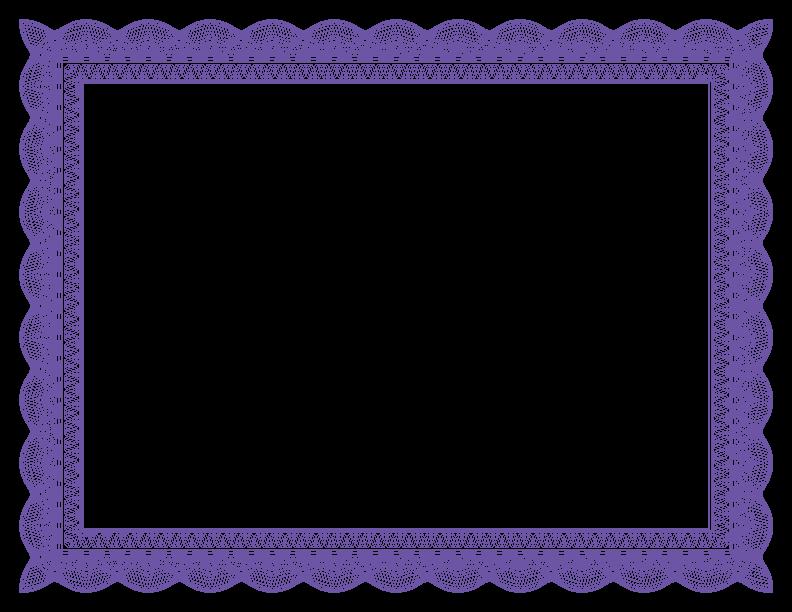 Fancy Purple Borders