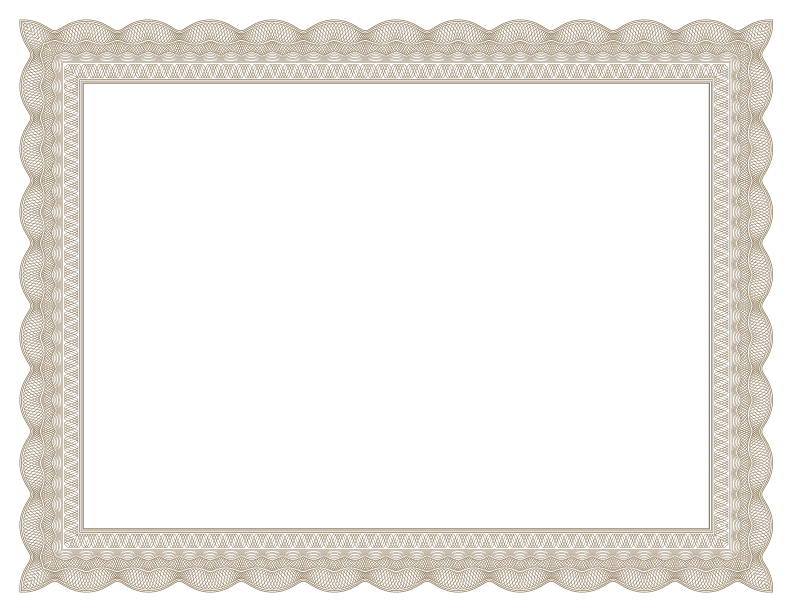 Free certificates templates borders frames and more formal certificate borders yadclub Choice Image