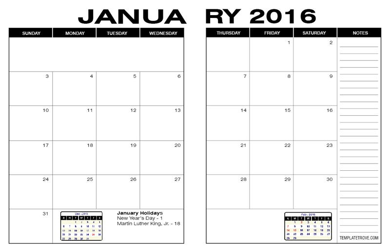 Free Calendars To Print Pdf Calendars