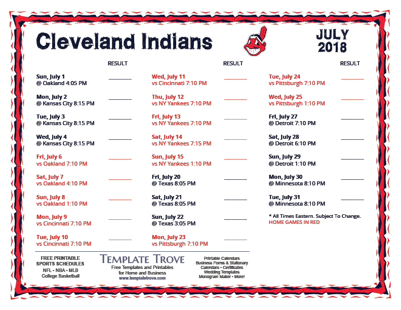 Chicago Cubs 2019 Schedule Printable Golfclub