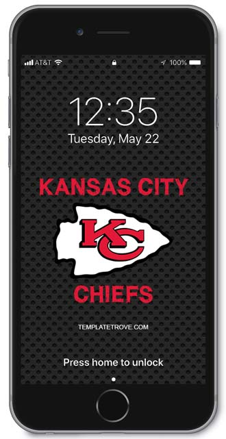 2019 2020 Kansas City Chiefs Lock Screen Schedule For