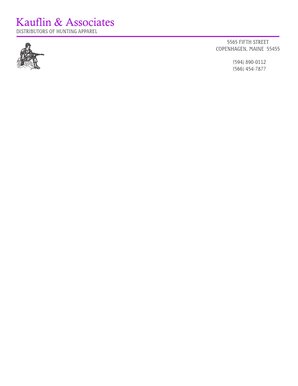 Letterhead template 1 letterhead template 1 black and purple spiritdancerdesigns Image collections