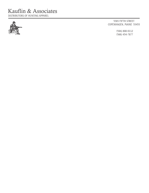 Template 1 – Ms Word Letterhead Templates Free Download