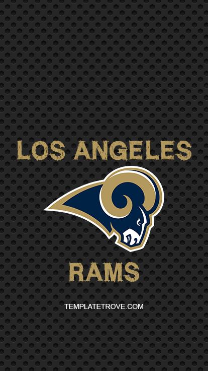 2019-2020 Los Angeles Rams Lock Screen
