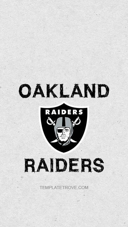 2019 2020 Oakland Raiders Lock Screen Schedule For Iphone 6
