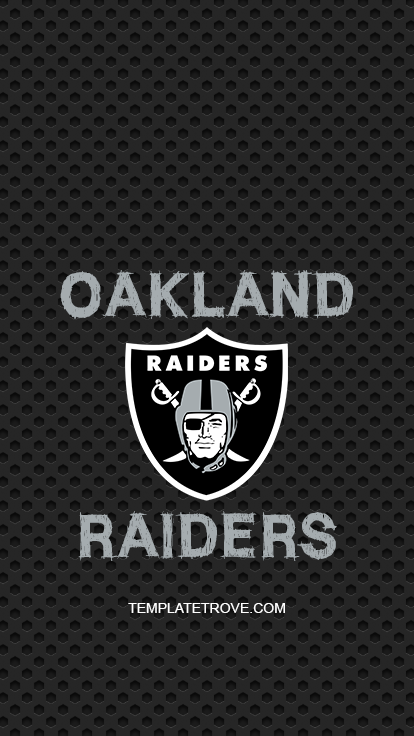 2018 2019 Oakland Raiders Lock Screen Schedule For Iphone 6