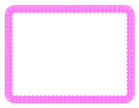 Pink Lace Full Sheet Border 1