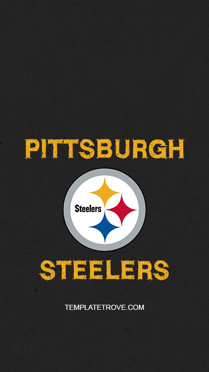 Pittsburgh-Steelers-Logo-Lock-Screen-iPhone-6-7-8-Plus-2 Team Newsletter Template on microsoft word, free printable monthly, free office, fun company, classroom weekly,